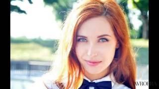 Рыжий цвет волос- все оттенки и мелирование