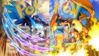 Roblox Pokemon Brick Bronze Pvp-MEGA CHARIZARD X VS MEGA CHARIZARD Y