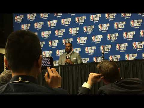 LeBron James has 'zero level of concern' following Game 1 loss to Boston Celtics