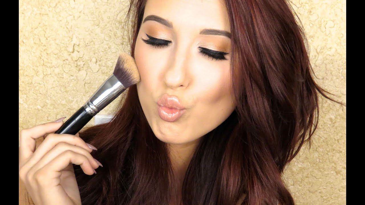 How To Cream Highlight Contour Jaclyn Hill Youtube