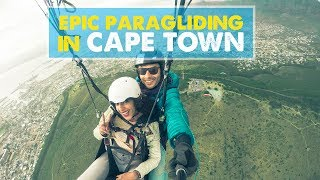 PARAGLIDING IN SOUTH AFRICA! | Fly Cape Town