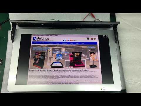 19inch bus 3g4g wifi bus advertising screen, digital advertising displays