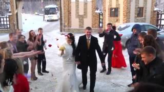 Свадебный клип, Зима