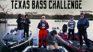 Texas Bass Challenge Ft. LakeForkGuy, 1Rod, Jon B. Flair, and Walker!! | TylersReelFishing