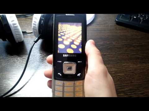 Samsung sgh-e900 on/off sound 2
