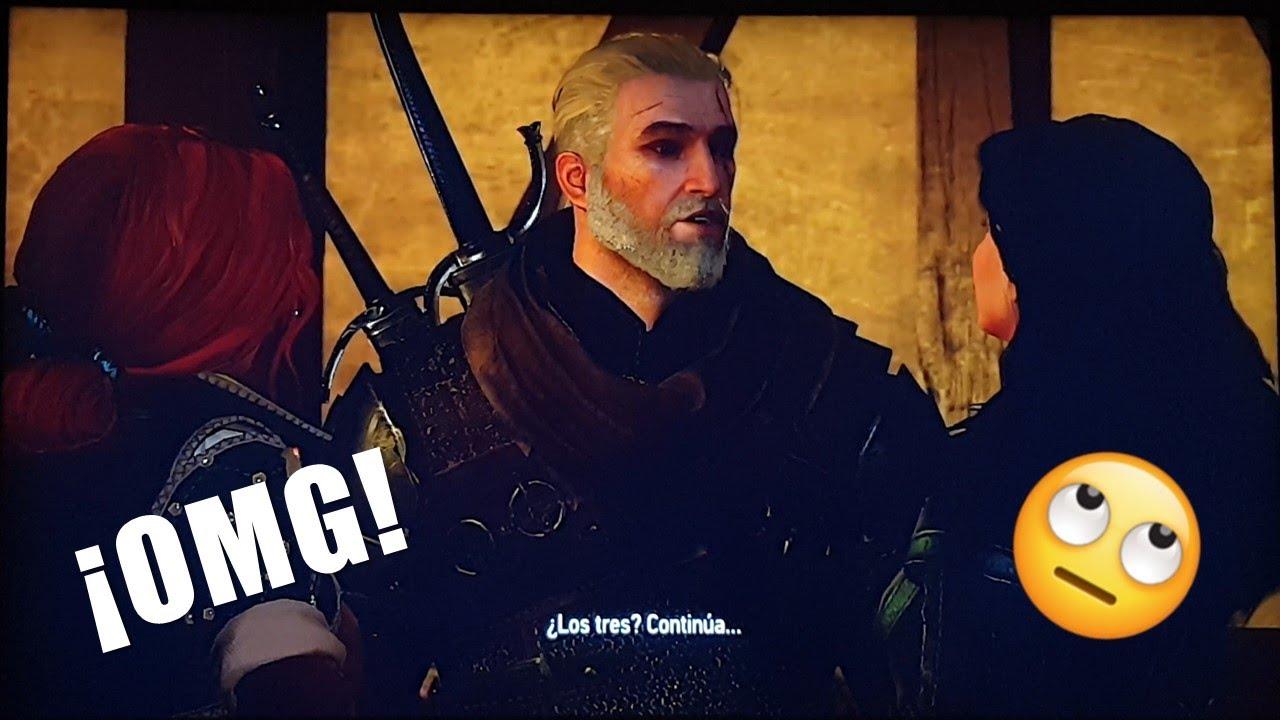 Yennefer y Triss le hacen el lío a Geralt - THE WITCHER 3: WILD HUNT