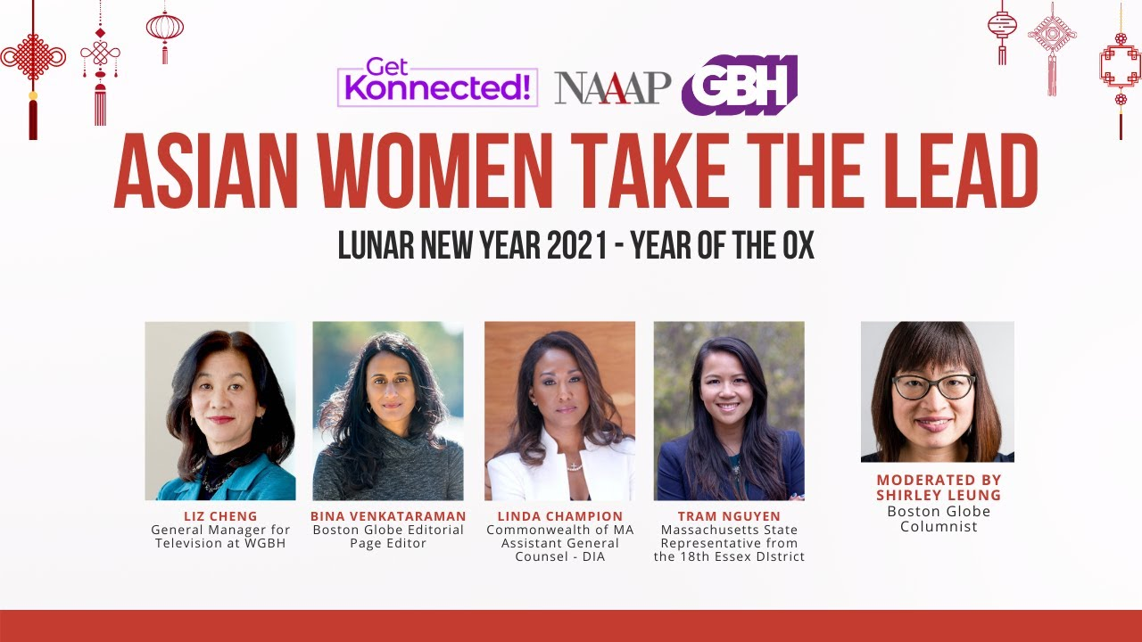 Asian Women Take the Lead - Lunar New Year 2021