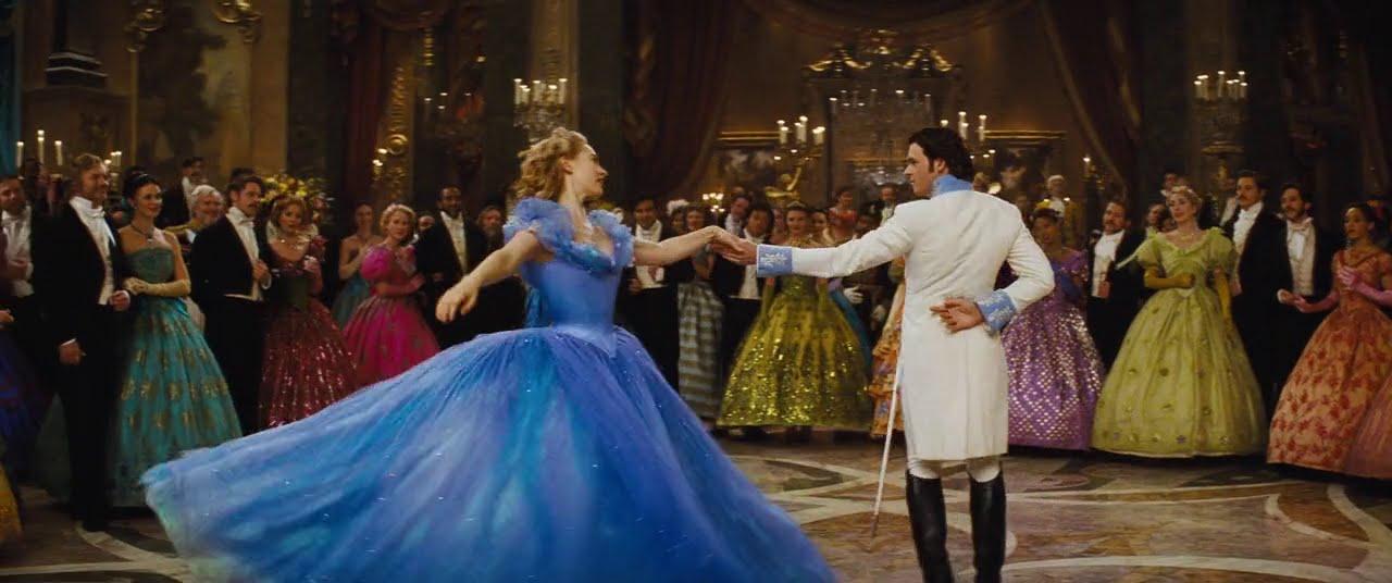 Cinderella 2015  The Ball dance  YouTube