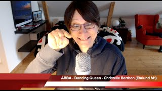 ABBA - Dancing Queen - Christelle Berthon (played with the Ehrlund M1 microphone)