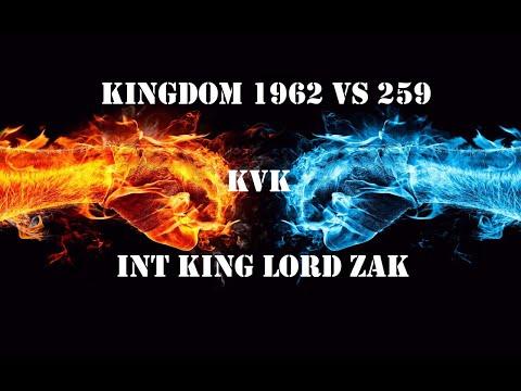 Clash of Kings: kvk 1962 vs 259! INT Alliance Lord Zak [Monster kills] (2018)