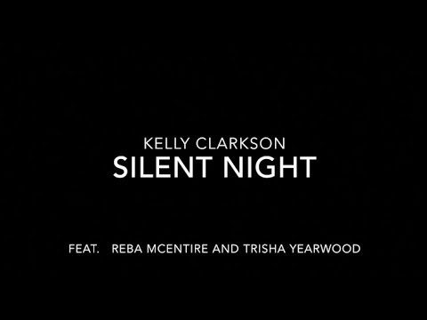 Kelly Clarkson - Silent Night (LYRICS)