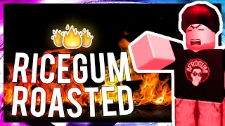 AfroGum roasted RiceGum!!?! | ROBLOX Remake
