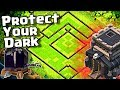 NEW TH9 Dark Elixir Protection Farming Base for 2019 in Clash of Clans
