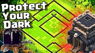 Download lagu NEW TH9 Dark Elixir Protection Farming Base for 2019 in Clash of Clans MP3