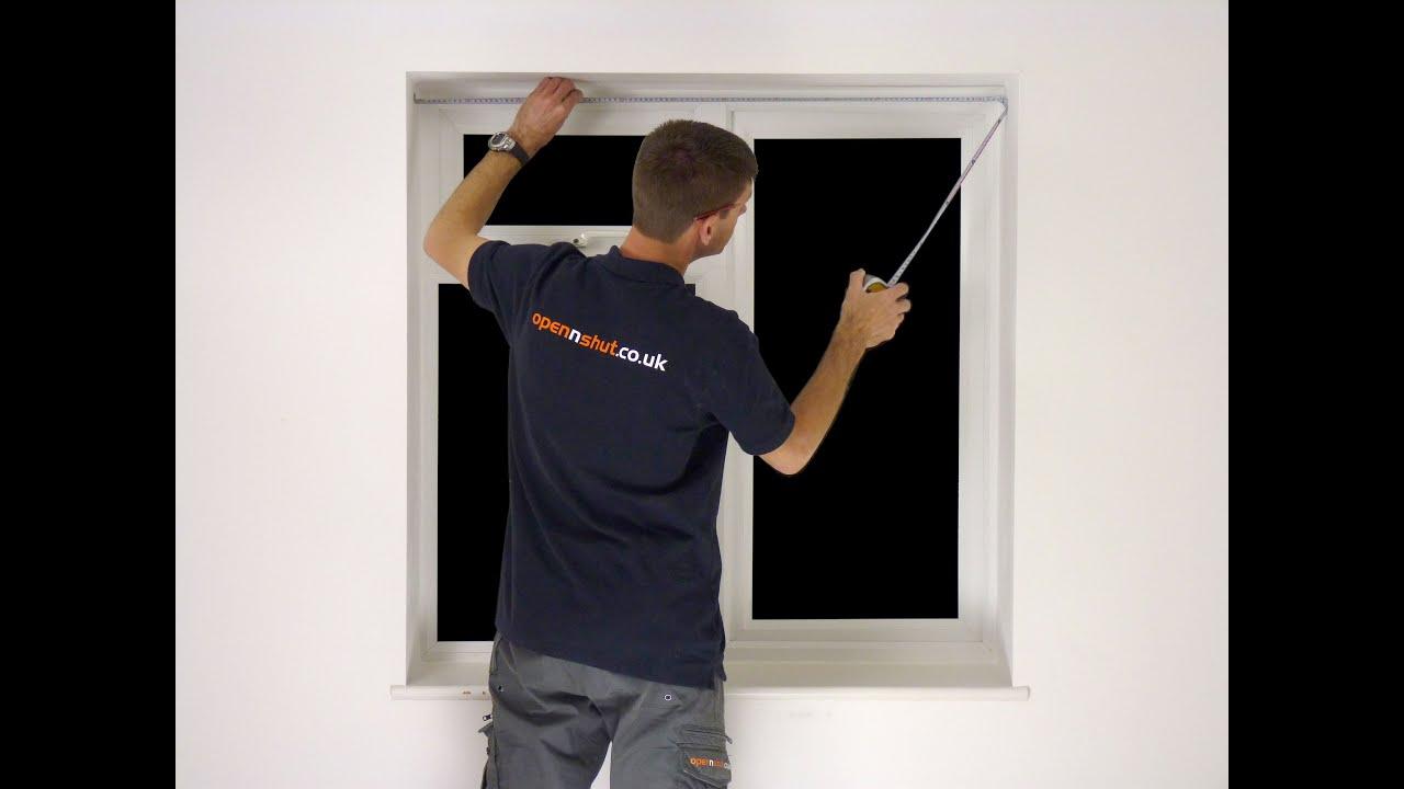 Measuring For Window Shutters Inside Mount Diy Fitting Youtube