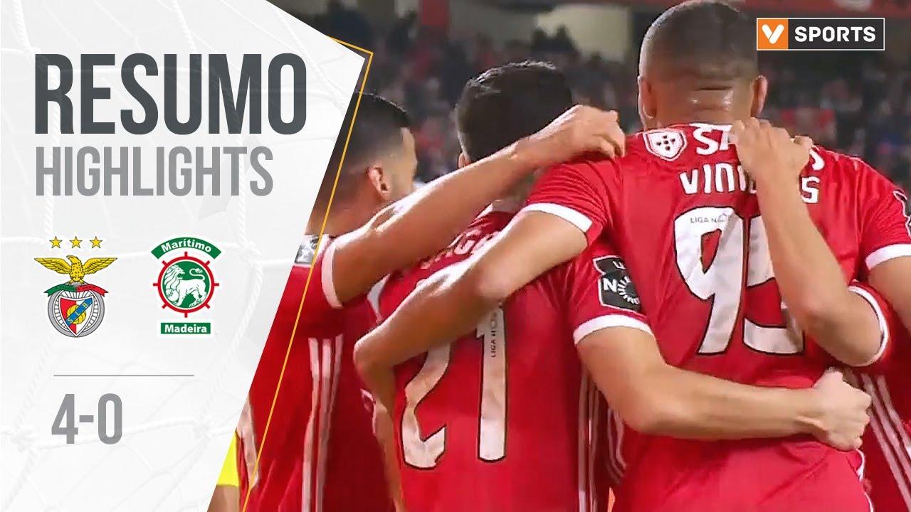 Highlights Resumo Benfica 4 0 Marítimo Liga 19 20 12