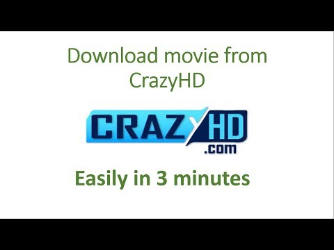 How to download movie from crazyhd || Let's Learn