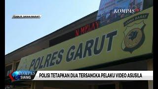 Download Mp3 Polisi Tetapkan Dua Tersangka Pelaku Video Asusila Viral Di Garut