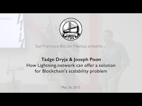 How Lightning.network can offer a solution for Blockchain