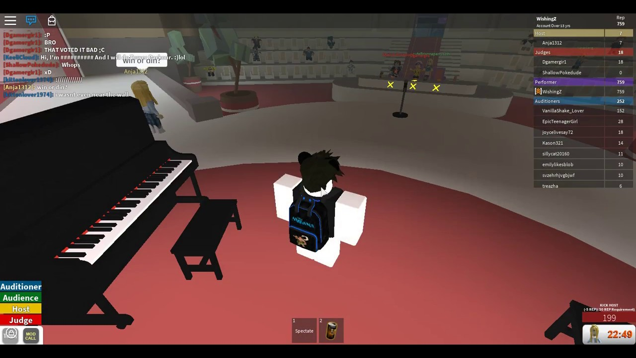 Robloxs Got Talent Piano Steven Universe See You Again Youtube