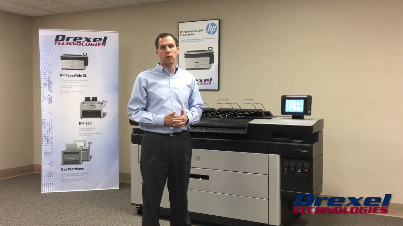HP PageWide 4000 Plotter Review