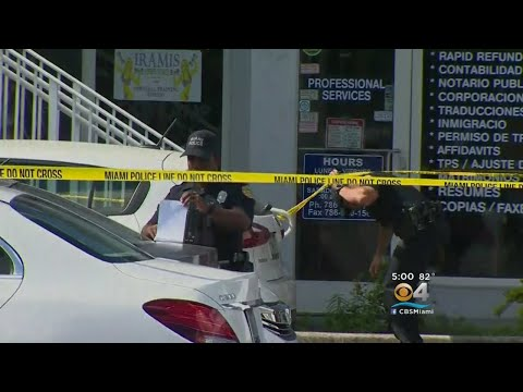 Person Shot, Another Stabbed At Miami Barbershop