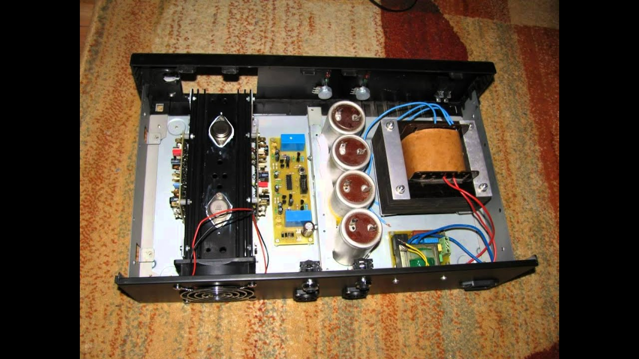pa100 simple audio amplifier out of scratch youtube. Black Bedroom Furniture Sets. Home Design Ideas