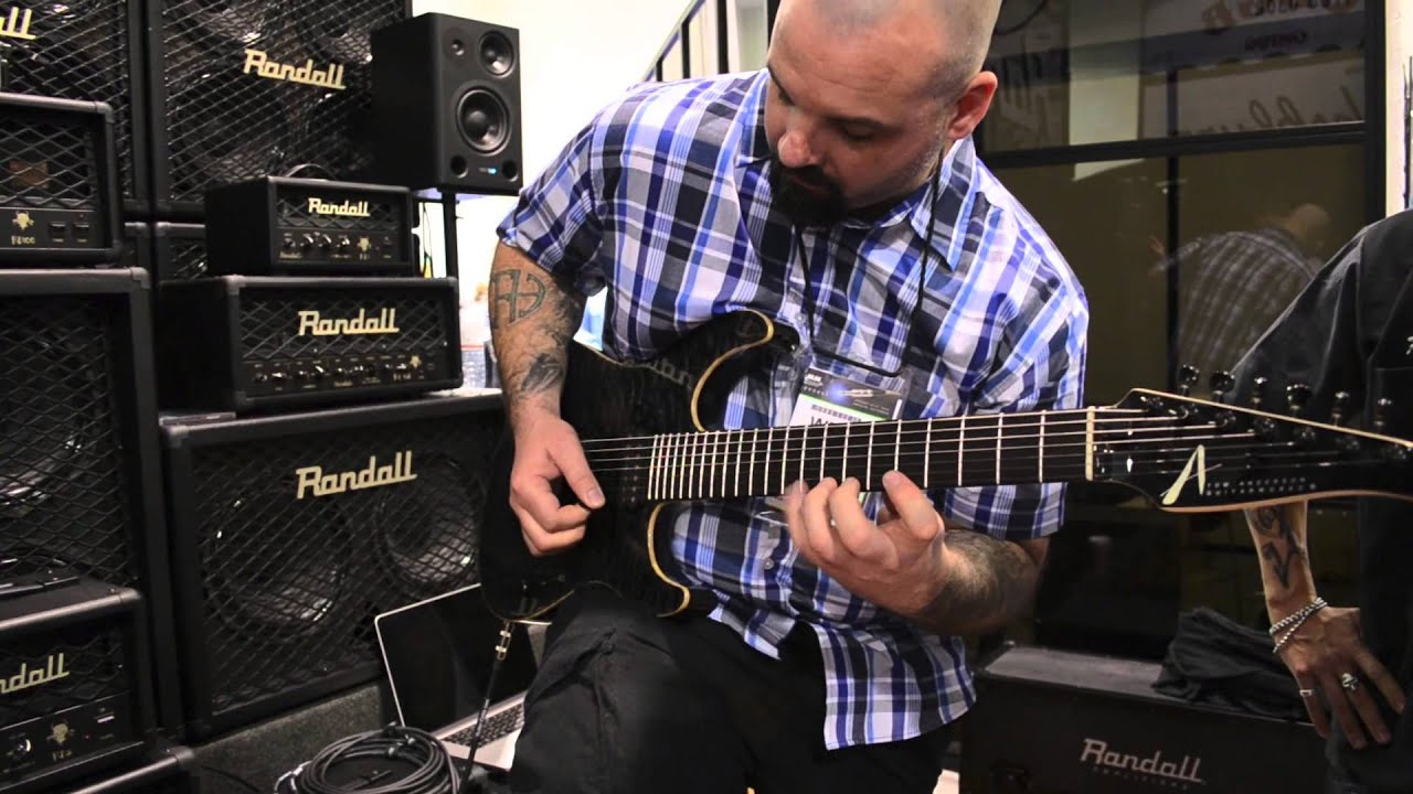 Wes Hauch Soloing at Randall Booth Winter Namm 2013