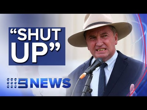 NSW Nationals leader warns Barnaby Joyce and Federal colleagues | Nine News Australia