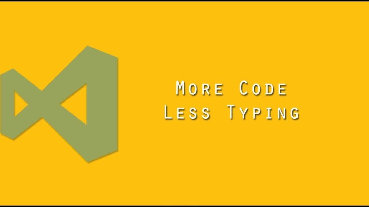 More Code, Less Typing