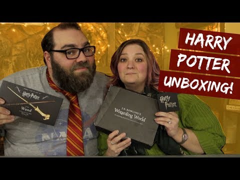 Harry Potter Unboxing :: Wizarding World Subscription Box from Loot Crate