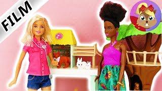 芭比娃娃 Barbie 玩偶影片世界上最棒的工作 照顾动物宝宝 好可爱~