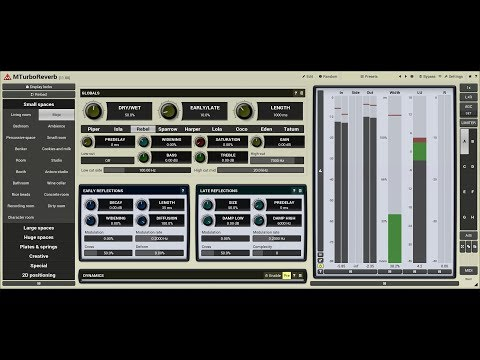 Reverb design using MTurboReverb #6 - Smart seed generator and stereo field management