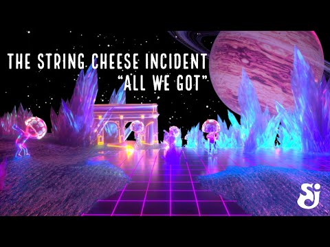 """The String Cheese Incident - """"All We Got"""" feat. Tony White - SCI Sound Lab (Single)"""