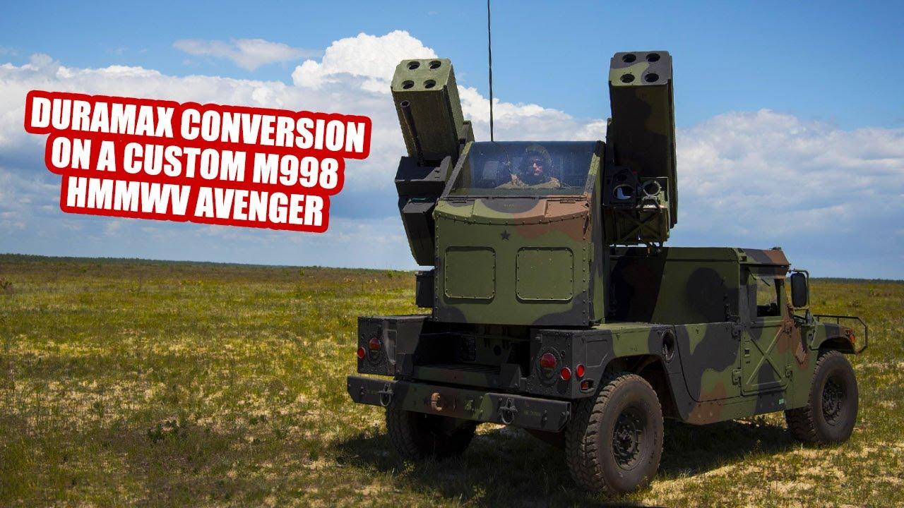 DURAMAX CONVERSION ON A CUSTOM M998 HMMWV AVENGER
