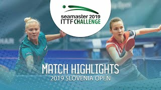 Анастасия Колиш vs Georgina Pota | Slovenia Open 2019 (R16)