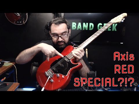 Turning my Ernie Ball Music Man Axis Sport into a Brian May style Red Special