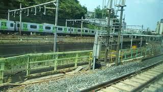 常磐線 特急ときわ59号の車窓  2018.08.04