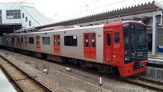 【303系】JR九州筑肥線普通西唐津行き 筑前前原駅発車