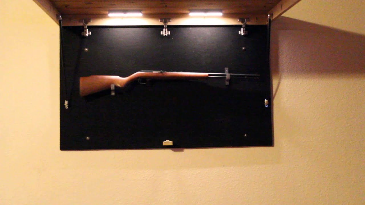 Hidden Gun Storage Furniture   YouTube