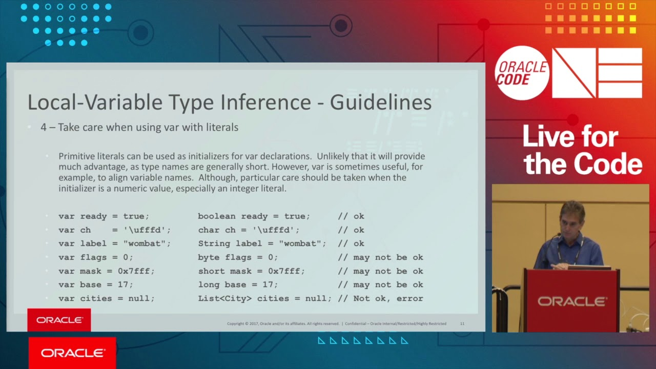 What's New in the Java Platform Language and Tooling Area