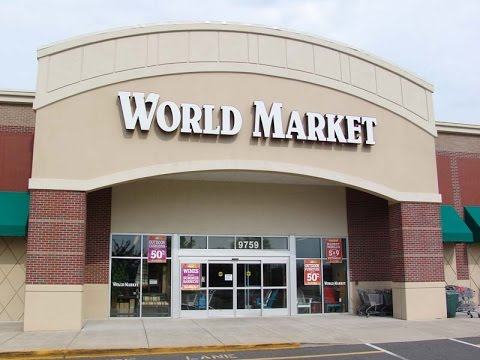 Come with us to...World Market!