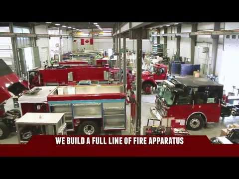 Fort Garry Fire Trucks: New Manufacturing Facility