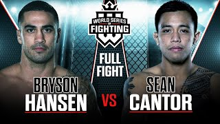 Bryson Hansen vs Sean Cantor | WSOF 9, 2014