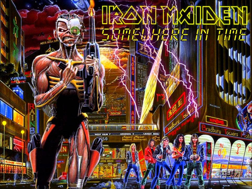 Iron Maiden Somewhere in Time Live - YouTube