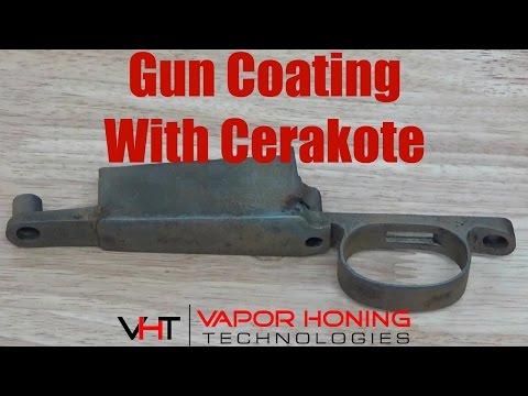 Gun Coating With Cerakote- Vapor Honing Technologies