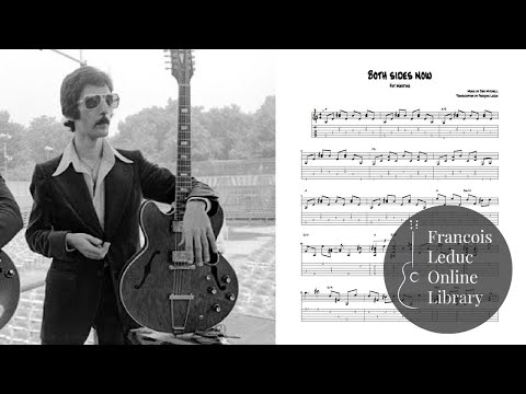 Both Sides Now - Pat Martino (Transcription)