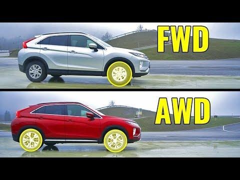 EVO-DNA im SUV? ALLRAD MIT TORQUE VECTORING  Allrad vs. Frontantrieb - 2018 Mitsubishi Eclipse Cross
