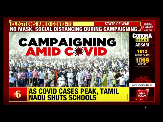 Why Covid norms flouted during poll rallies? Dr. Ravi Malik on India Today