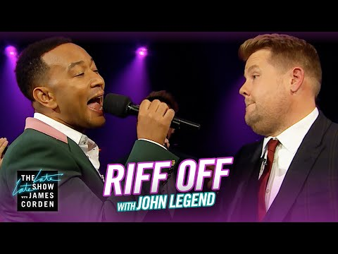 Fay - John Legend vs. James Corden In The A Capella Summer Riff-Off